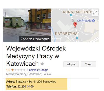 Badania kierowców w WOMP Sosnowiec