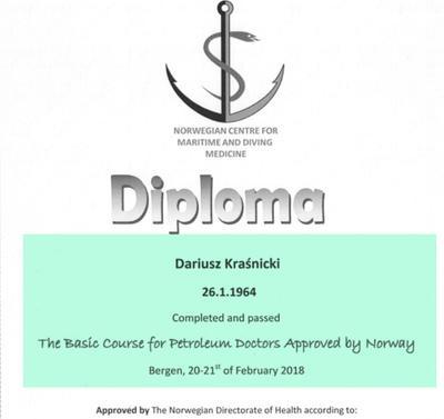 Uprawnienia na certyfikaty norweskie