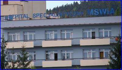 Szpital kardiologiczny MSWiA w Głuchołazach